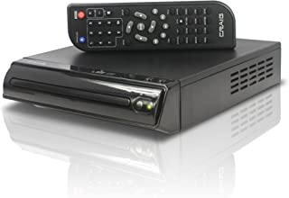 Craig Compact DVD/JPEG/CD-R/CD-RW/CD Player with Remote (CVD512a), Single