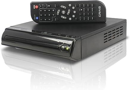 Craig Compact DVD/JPEG/CD-R/CD-RW/CD Player with Remote (CVD512a)