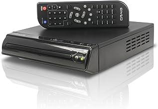 Craig Compact DVD/JPEG/CD-R/CD-RW/CD Player with Remote (CVD512a), Single