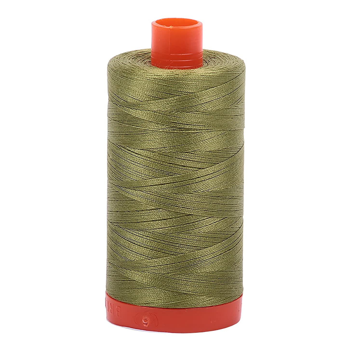 Aurifil Mako Cotton Thread Solid 50wt 1422yds Olive Green