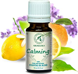 Duftmischung Entspannt 10ml - Beruhigende mit Naturreinem Ätherischen 100% Lavendelöl - Zitronenöl & Orangenöl - für Guten Schlaf - Entspannung - Aromatherapie - Duftlampe