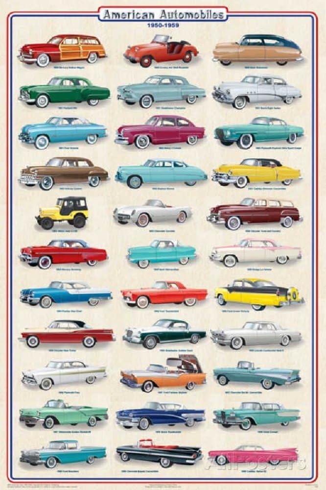 Classic Station Wagon Ad Retro Car Poster 1959 Car Poster American Car Ad Garage Car art VINTAGE 1959 CAR Ad Garage Wall Art