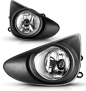 Fog Lights For Toyota Yaris Hatchback 2012-2014 (not fit SE models) Fog Light Assembly 2PCS OEM Replacement Fog Lamps AUTOWIKI