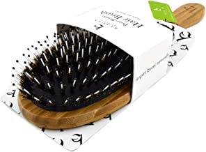 Boar Bristle Hair Brush - Hair Brushes for Women & Mens Hair Brush, Best Detangling Brush, Boar Bristle Brush, Wooden Hair Brush, Curly Hair Brush, Hair Detangler Boar Brush, Bamboo Hair Brush Kids