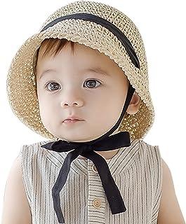 Fatu Fashion Baby Straw Hat Outdoor Toddler Kid Sun Protection Hats Foldable Beach Sun Hats for Girls