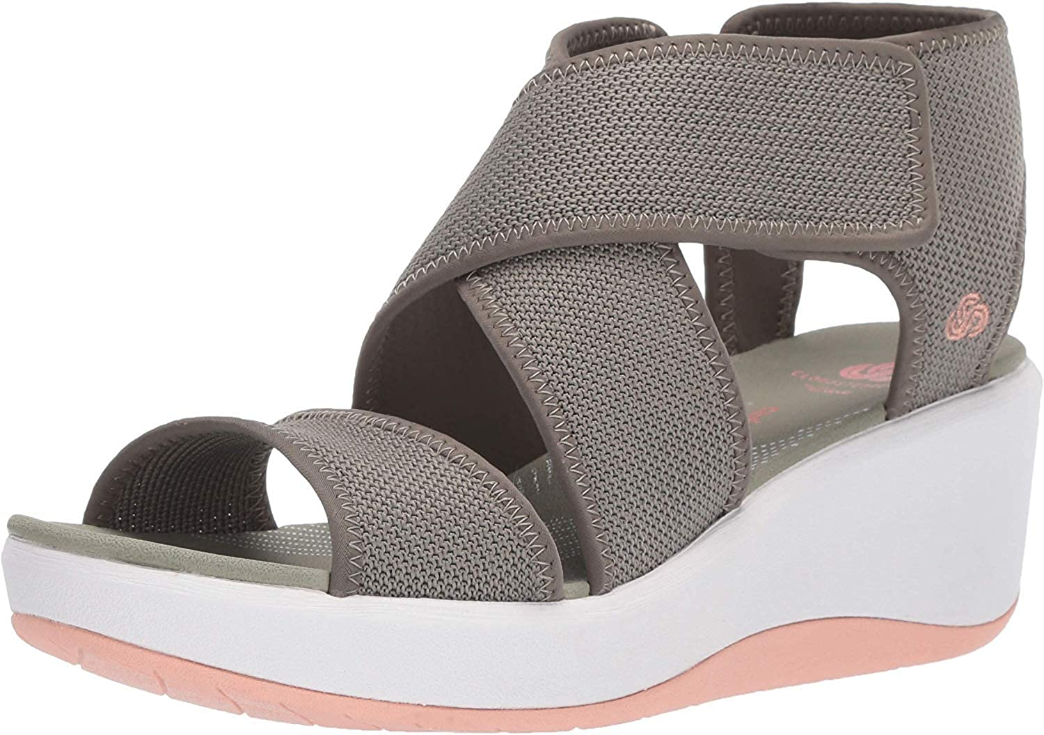 Clarks Women's New product! New type Step Palm Cali Superior Sandal