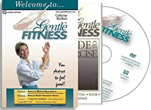 Gentle Fitness DVD – The Original Award-Winning Chair Exercise / Chair Yoga Home Program for Seniors, People Living with Stiffness, Stamina Issues. Therapeutic Breathing, Smart, Fun, and Easy-to-Follow. You Deserve to Feel Good! Free, 20-pg Guide to Exercise.