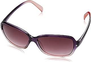 Fastrack UV Protected Square Women's sunglasses (P312PR2F|57.1|Purple)