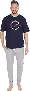 Cargo Bay Mens Jersey Top and Bottoms Lounge Set