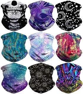 Headband Skull Eat Flower Headwear Sport Sweatband Yoga Head Wrap for Men Women