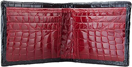 product image for Handmade Black and Red Alligator Wallet