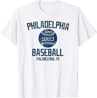 Vintage Philadelphia PA Baseball Founded Classic Fan T-shirt