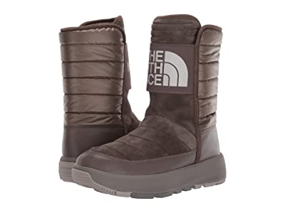 The North Face Ozone Park Winter Pull-On Boot (Shroom Brown/Vintage Khaki) Women