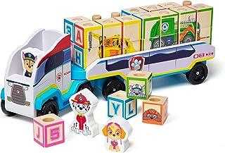 Melissa & Doug PAW Patrol Wooden ABC Block Truck (33 Pieces)