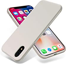 OTOFLY for iPhone XR Case, [Silky and Soft Touch Series] Premium Soft Silicone Rubber Full-Body Protective Bumper Case Com...