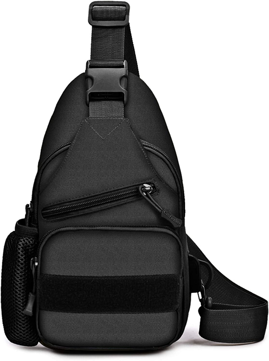 REDCAMP Canvas Sling Bag for Men Small Topics on TV Shoulder Popularity U Backpack with
