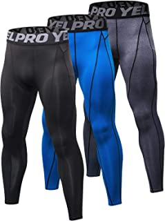 Men's Compression Pants Baselayer Cool Dry Sports Tights Leggings Running Tights