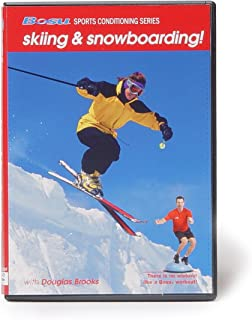 Bosu Sports Conditioning Series Skiing & Snowboarding DVD with Douglas Brooks