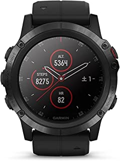 GARMIN(ガーミン) fenix 5X Plus Sapphire Black 音楽再生機能 マルチスポーツ型GPSウォッチ 最大18日間稼働 【日本正規品】