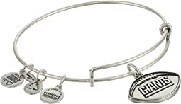 New York Giants Football Charm Bangle