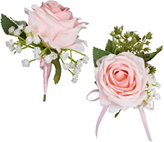 Best light pink rose corsage Reviews