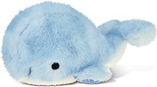 Puzzled Blue Whale Super - Soft Stuffed Plush Cuddly Animal Toy Ocean Life Theme 7 Inch Unique Huggable Loveable New Frien...