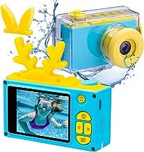 Kids Digital Cameras for Boys Girls HD 1080P Video Camera for Kids Children Selfie Camera Kids Toy Cameras Mini Child Camcorder for Age 6+ Boys/Girls Blue(Memory Card Not Included)