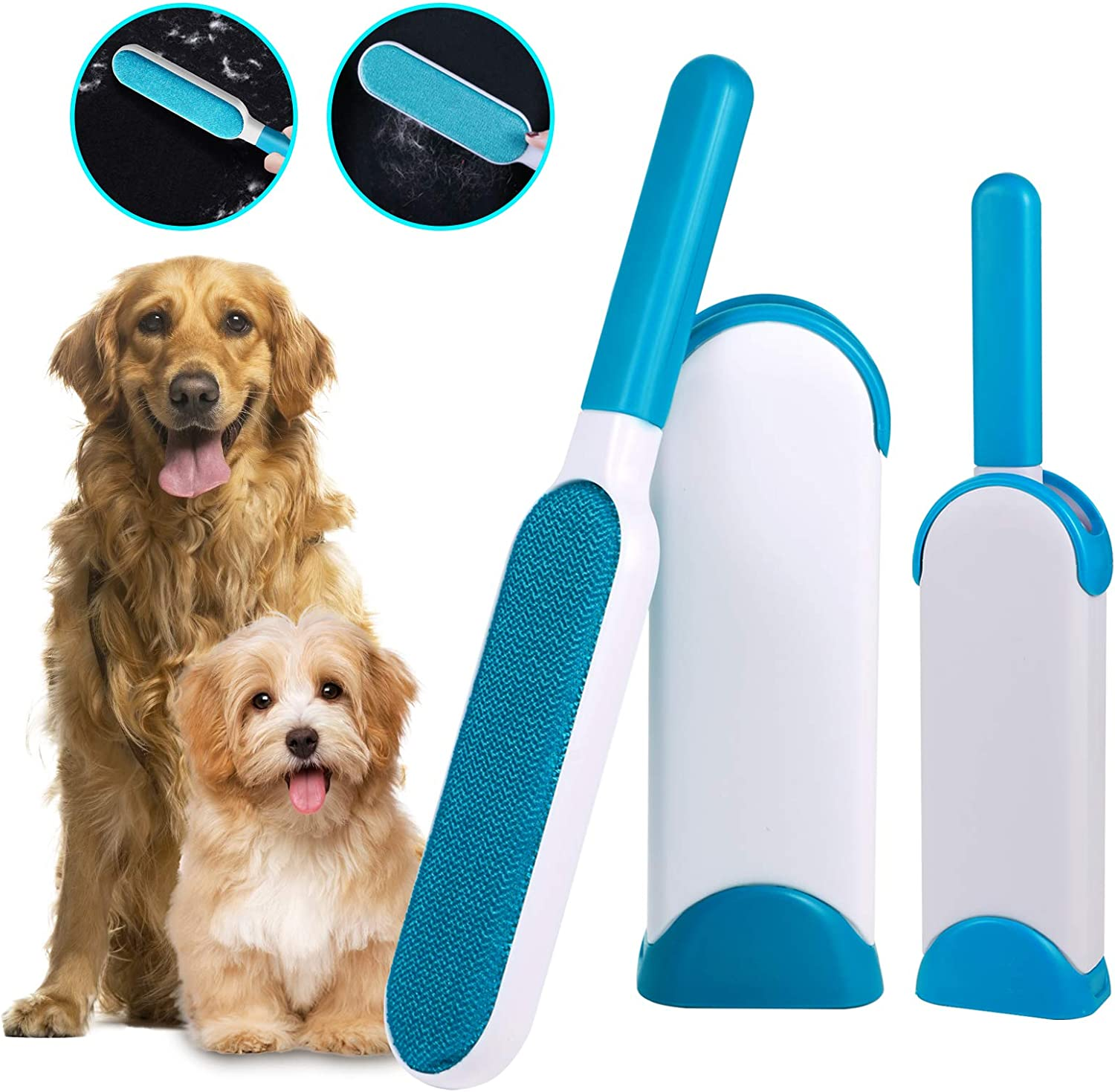 ARQFSMY Pet Hair Remover Double-Sided Denver Mall with Cle Automatic unisex Design
