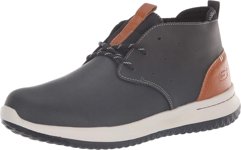 Skechers Men's Delson-Clenton Chelsea Boot