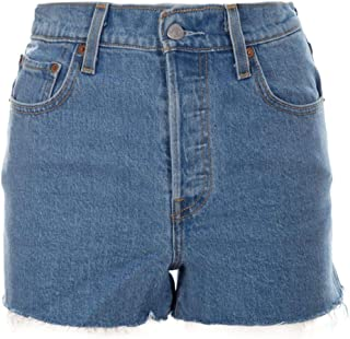 Levi's Luxury Fashion Womens 778790005 Light Blue Shorts   Spring Summer 19
