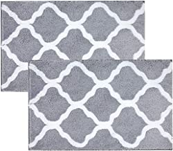Best grey and white bathroom mats Reviews