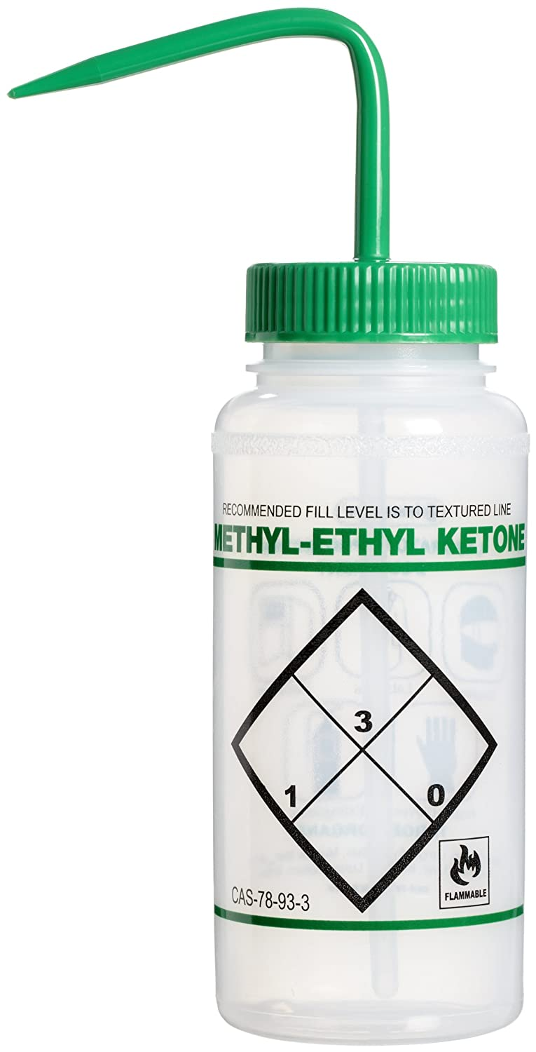 Free shipping SP Bel-Art Cheap SALE Start Safety-Labeled 2-Color Ethyl Ketone Wide-Mouth Methyl