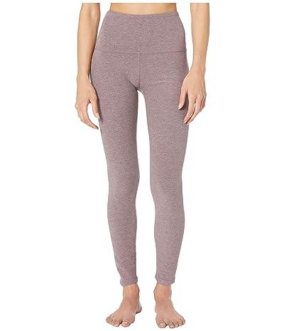 Beyond Yoga Spacedye High-Waist Midi Leggings (Dusty Mauve/Lilac Luster) Women