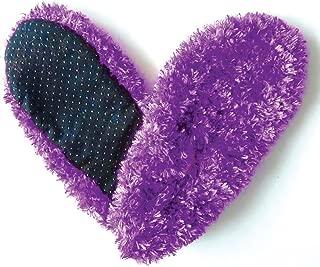 Fuzzy Footies Super Soft Slippers - Purple