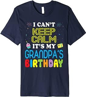 happy birthday grandpa shirt