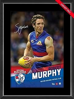 Sport Entertainment Products Bob Murphy Signed Vertiramic