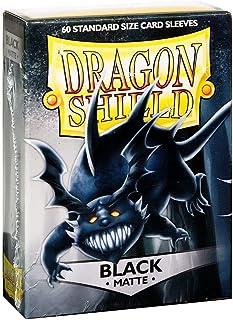 Arcane Tinman Sleeves: Dragon Shield Matte Black (60), One Size