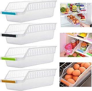 LIMEOW Plastique Rangement Frigo Organisateur Organisateur de tiroir rétractable pour réfrigérateur Organisateurs de tiroi...