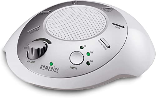 White Noise Sound Machine | Portable Sleep Therapy for Home, Office, Baby & Travel | 6 Relaxing & Soothing Nature Sou...