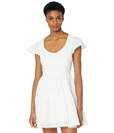 LOST + WANDER Middle of Nowhere Mini Dress (White) Women