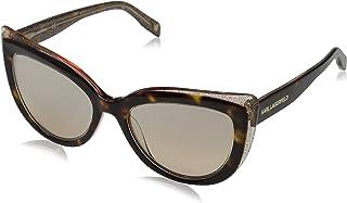 Karl Lagerfeld Cat Eye Women's Sunglasses Grey