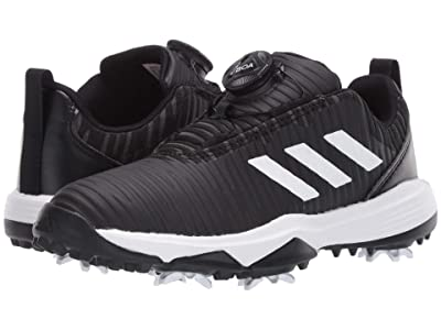 adidas Golf Codechaos BOA (Little Kid/Big Kid) (Core Black/Footwear White/Glory Blue) Golf Shoes