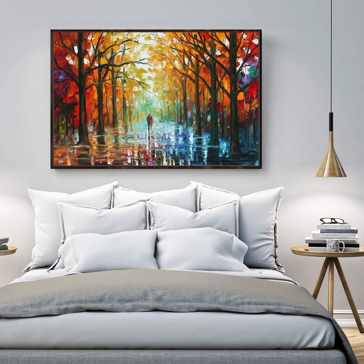 wall26 Floating Framed Canvas Wall supreme Living Bedroom Room Portland Mall Art for