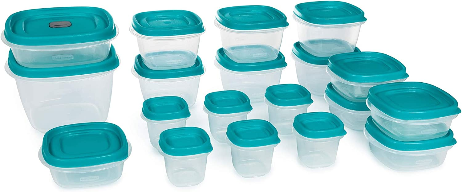 Max 84% OFF Easy Find Vented Lids Food Storage 19 38 Containers Set Piec Max 55% OFF of