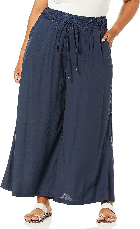 Angie Women's Plus Size Wide Leg Pant