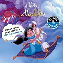Disney Aladdin: Movie Storybook / Libro basado en la película (English-Spanish) (19) (Disney Bilingual)