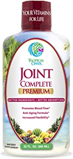 Joint Complete Premium- Liquid Joint Supplement w/Glucosamine, Chondroitin, MSM, Hyaluronic Acid – for Bone, Joint Health,...