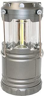 Outdoorsman By i-Zoom 600 Lumen COB LED Collapsible Lantern - Gray
