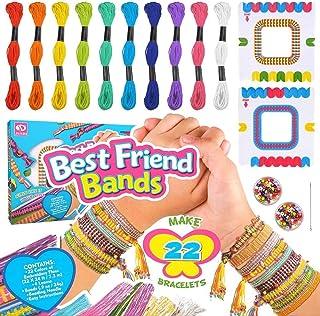 Mumoo Bear Hubery Friendship DIY Bracelet Craft Kit Forever Friend Children's Art and Crafts
