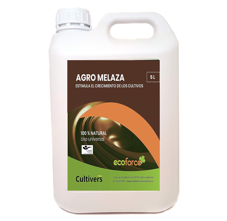 CULTIVERS Agro Melaza Ecológica 7 kg (5 L). Estimula el crecimiento de tus cultivos. Uso Universal